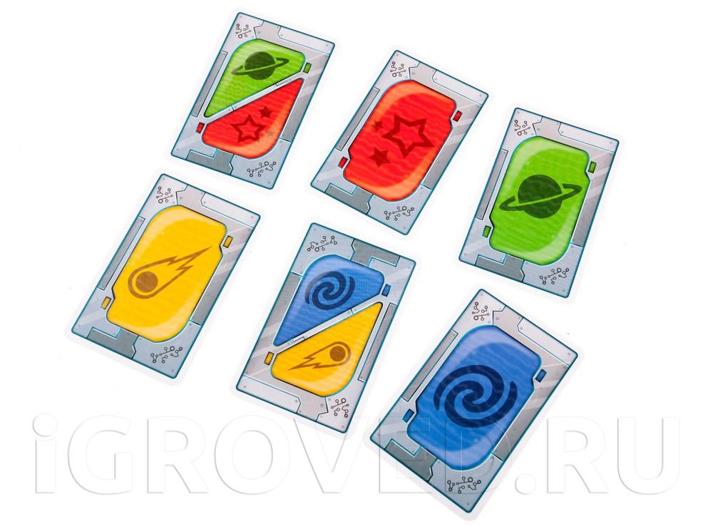 Карточки настольной игры Пришельцы в кукурузе (Mino & Tauri)