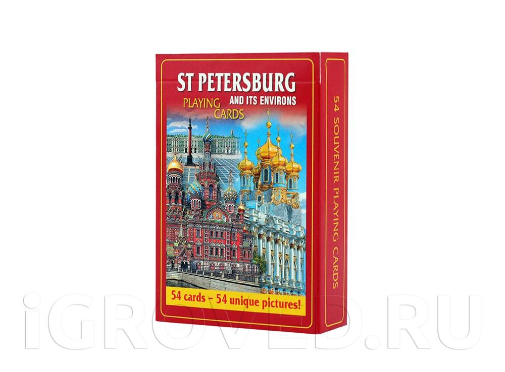 Карты сувенирные Санкт-Петербург