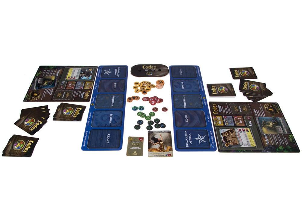 Компоненты настольной игры Кодекс