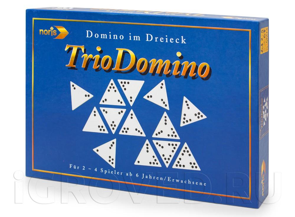 Коробка настольной игры Тримино (Triodomino)