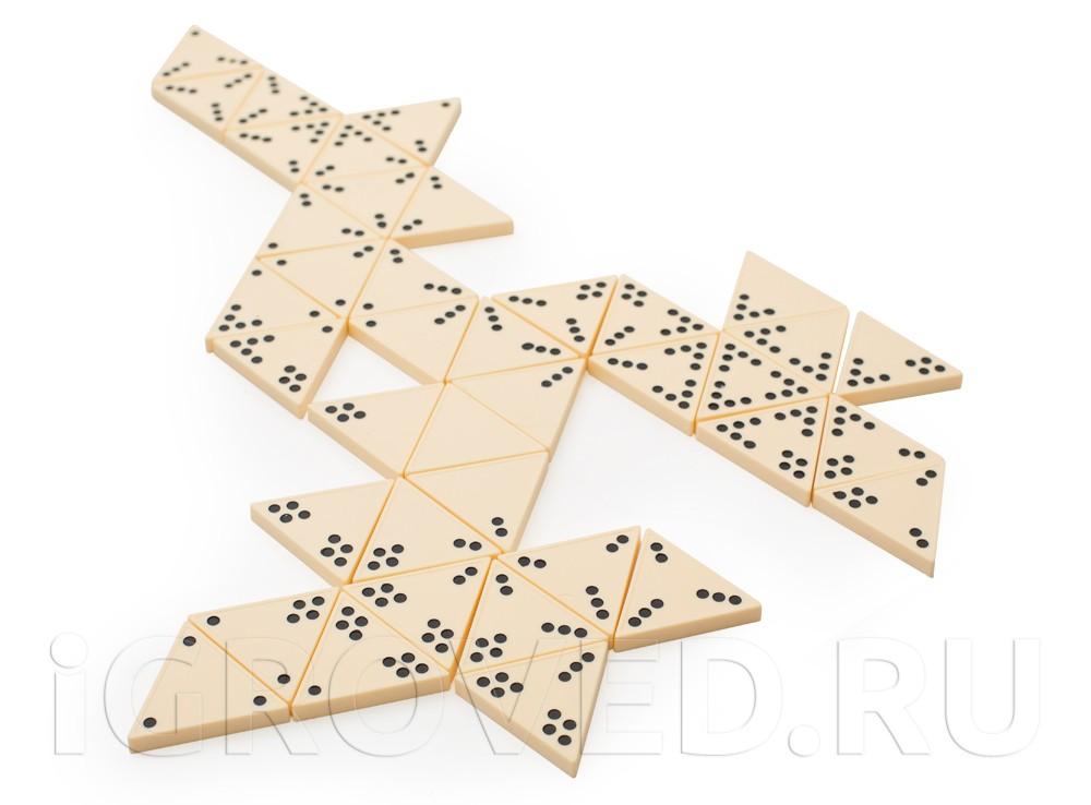 Фишки настольной игры Тримино (Triodomino)