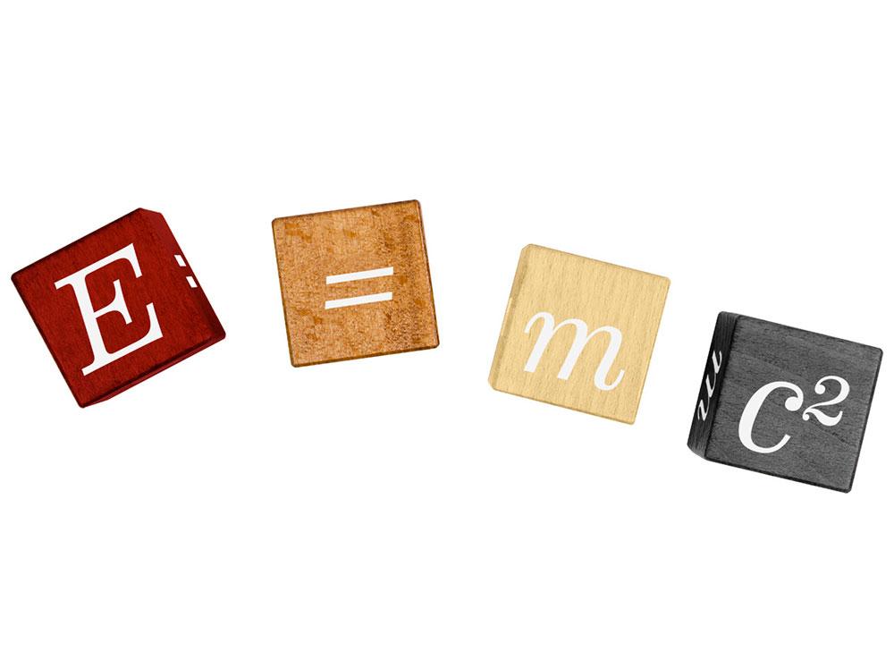 Компоненты настольной игры E=MC2 кубическая (2323, E=mc2 Puzzle Cubes)