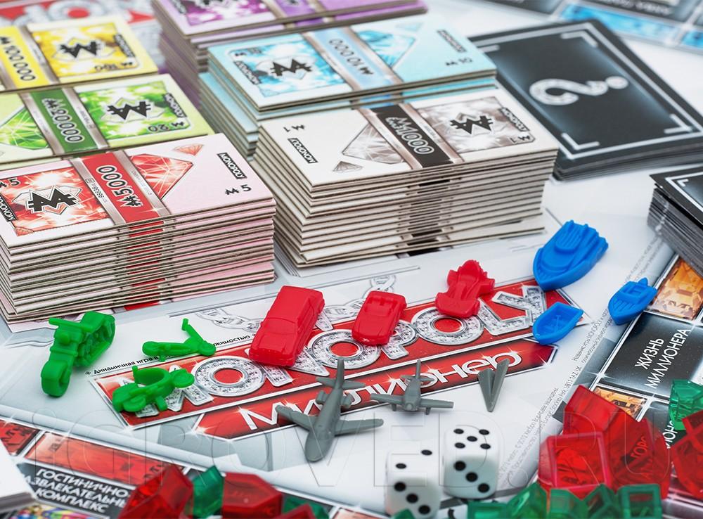 Карточная игра монополия миллионер