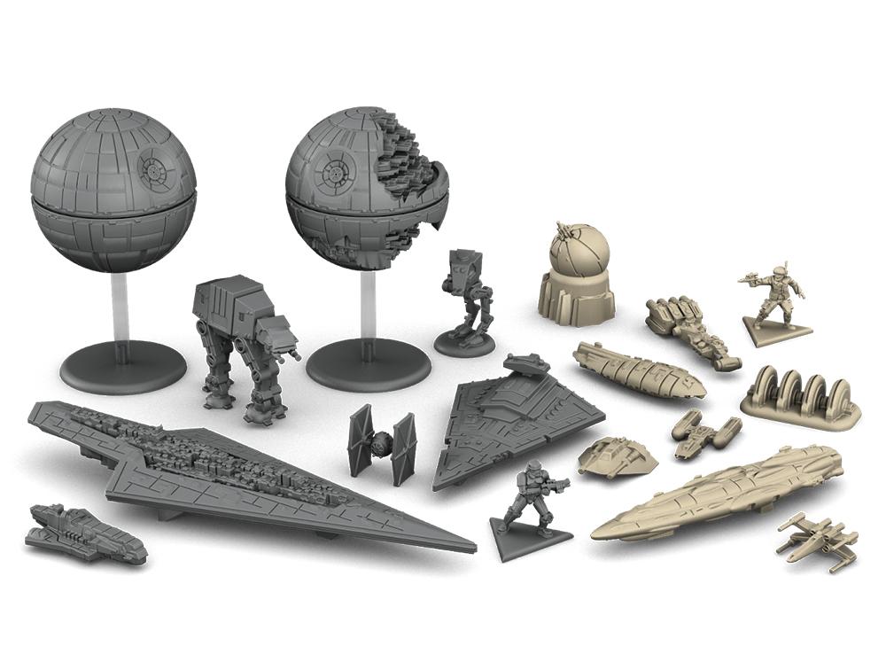Компоненты настольной игры Звёздные Войны: Восстание