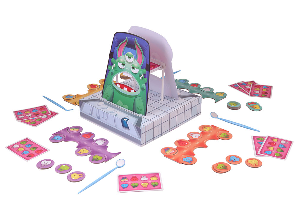 Игровой процесс настольной игры Зубной для монстров