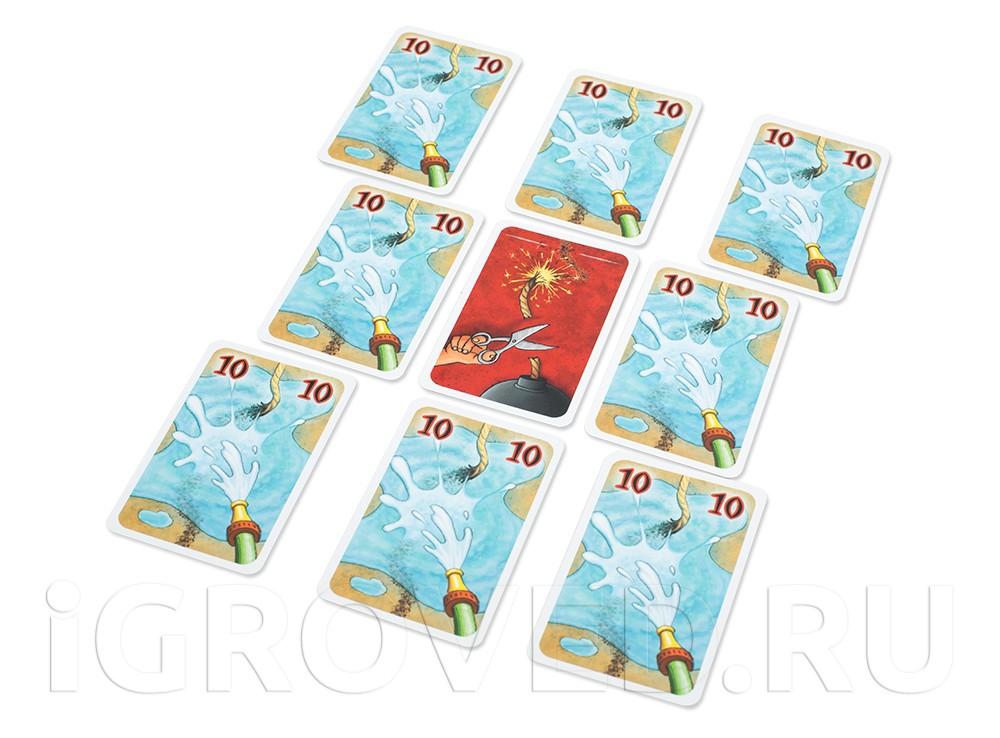 Карточки настольной игры Фитиль (Lunte)