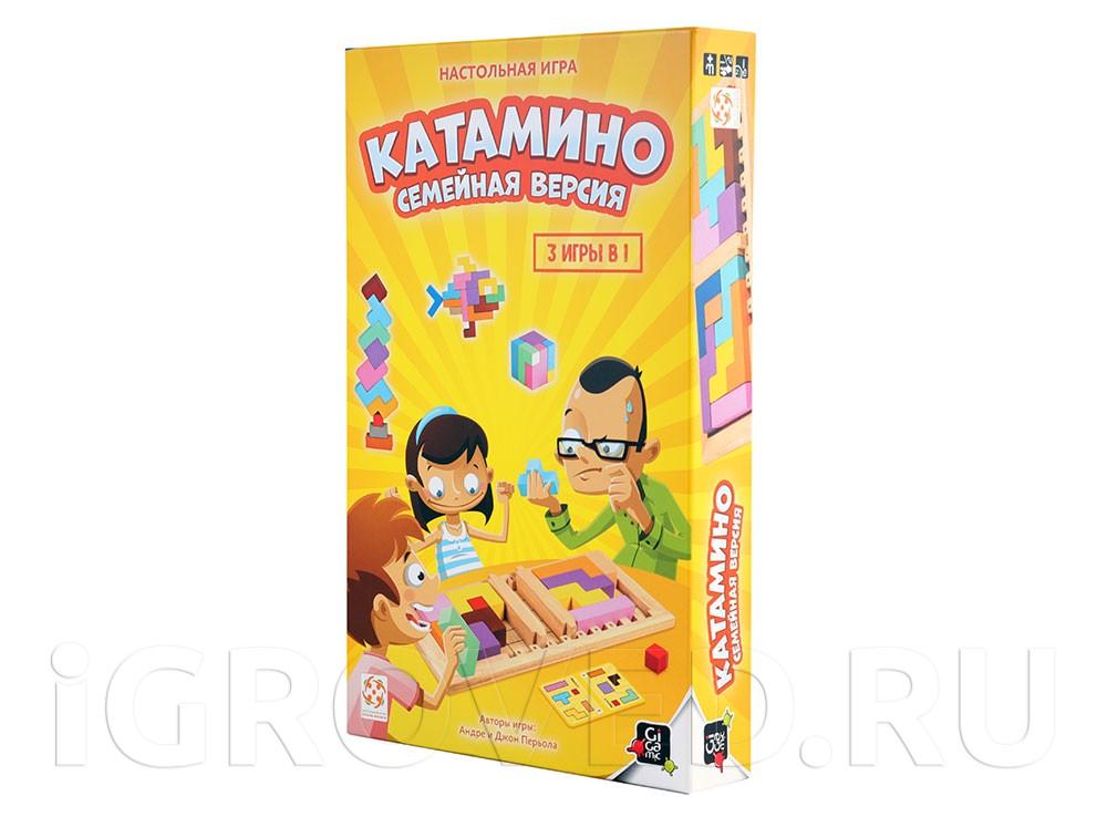 Коробка настольной игры Катамино (Katamino) Семейная версия