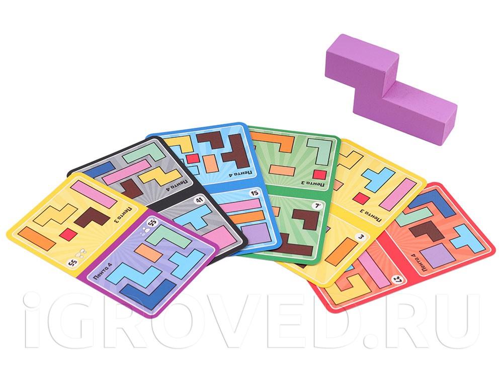 Варианты карт заданий для игры вдвоем. Настольная игра Катамино (Katamino) Семейная версия