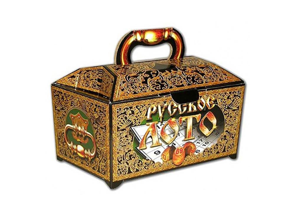 Ларец настольной игры Русское лото (подарочное)