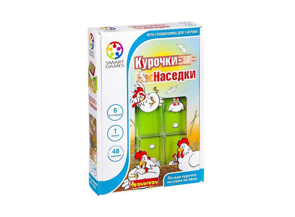 Коробка настольной игры-головоломки Курочки-наседки