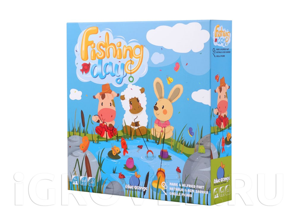 Коробка настольной игры День рыбака (Fishing Day)