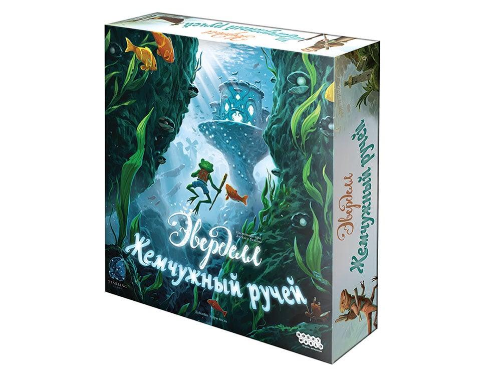 Коробка настольной игры Эверделл Жемчужный ручей