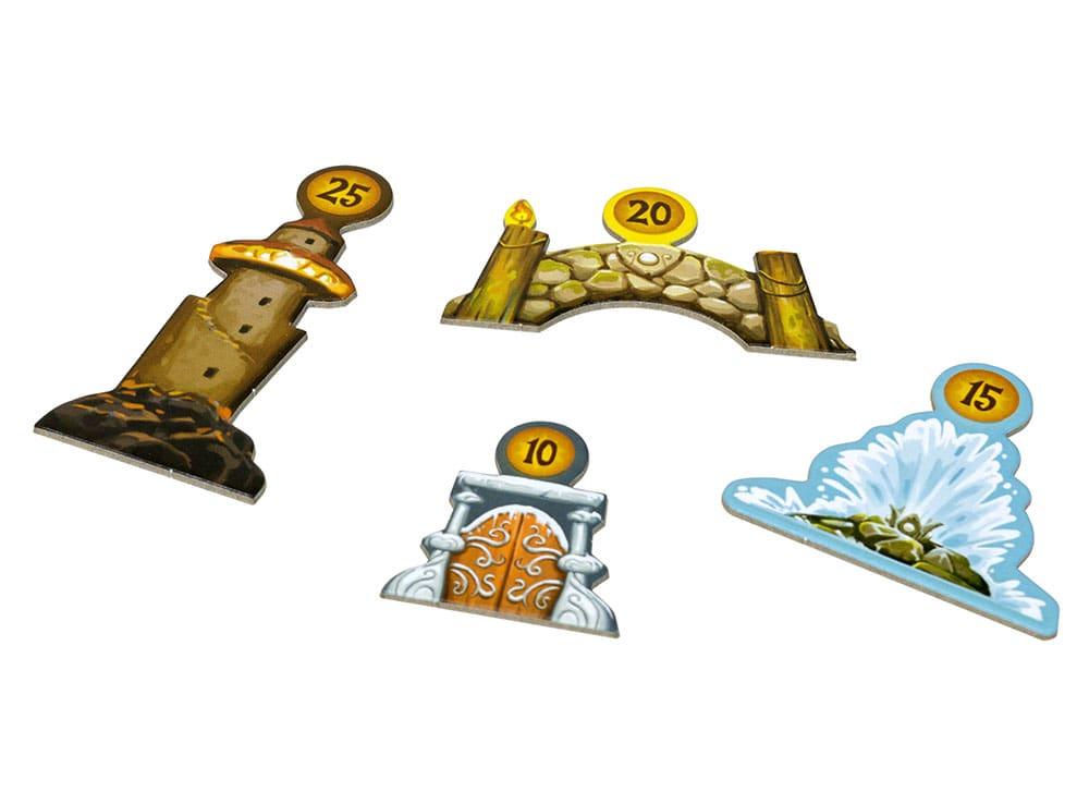 Компоненты настольной игры Эверделл Жемчужный ручей