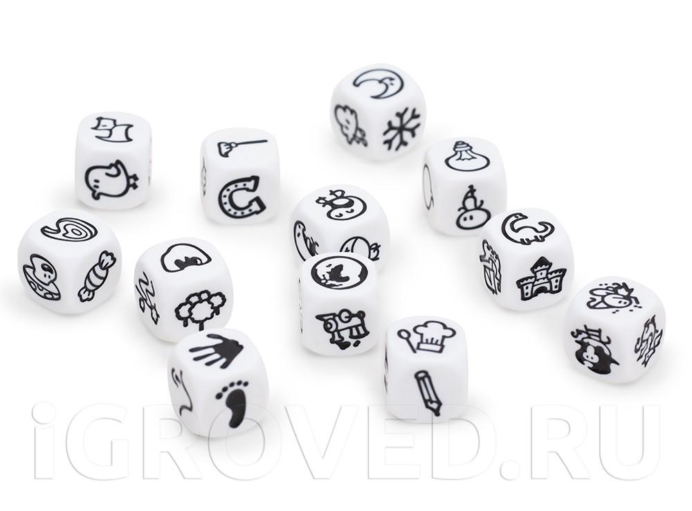 Кубики из игры Генератор историй