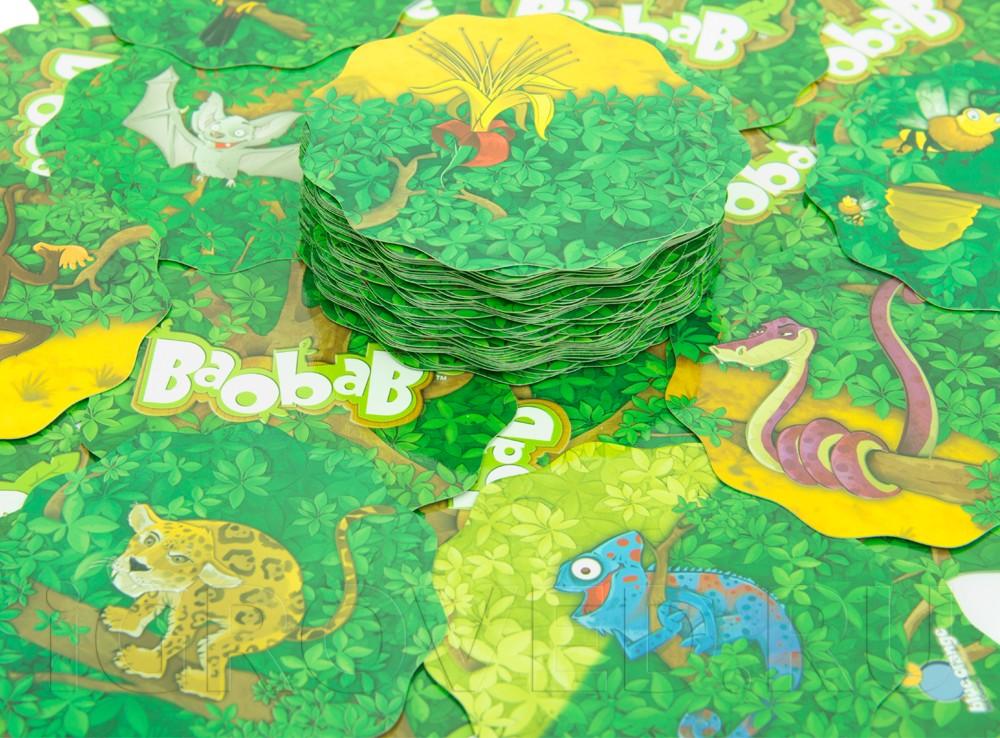 Карточки настольной игры Баобаб (Baobab)