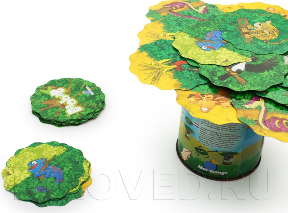 Игровой процесс настольной игры Баобаб (Baobab)