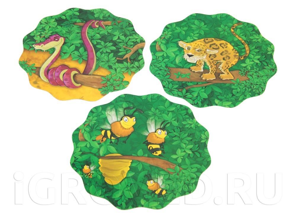 Карточки-диски настольной игры Баобаб (Baobab)