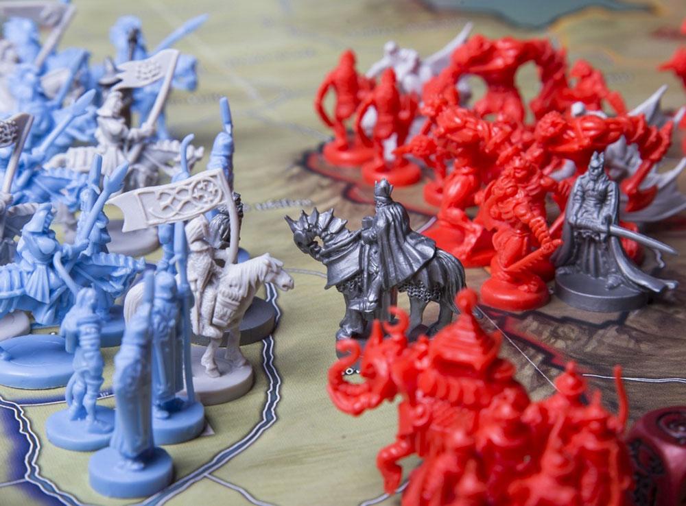 Компоненты настольной игры Война кольца