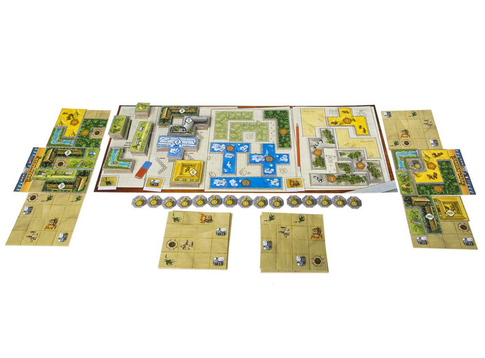Игровой процесс настольной игры Медвежий парк