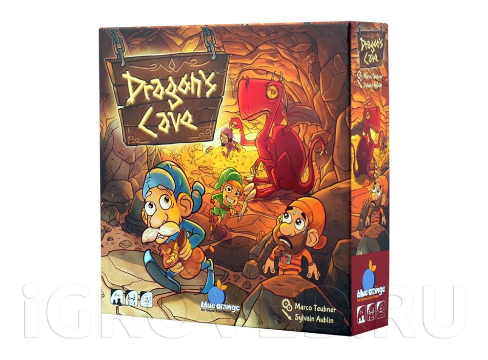 Коробка настольной игры Пещера Дракона (Dragons Cave)