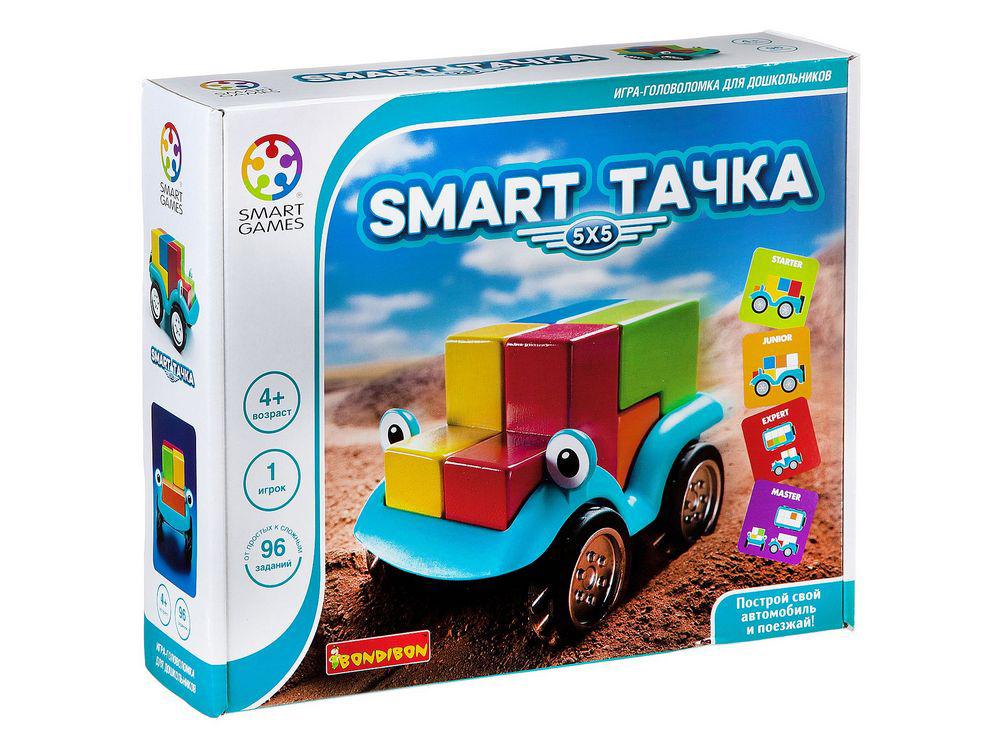 Коробка настольной игры-головоломки Smart Тачка