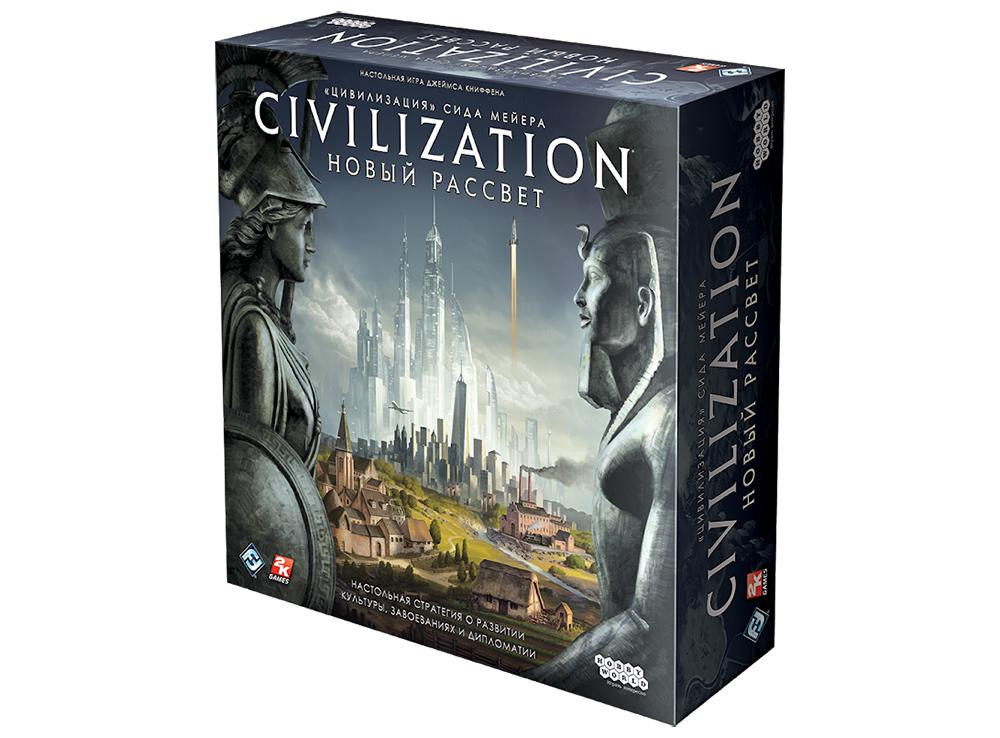 Коробка настольной игры Цивилизация Сида Мейера: Новый рассвет