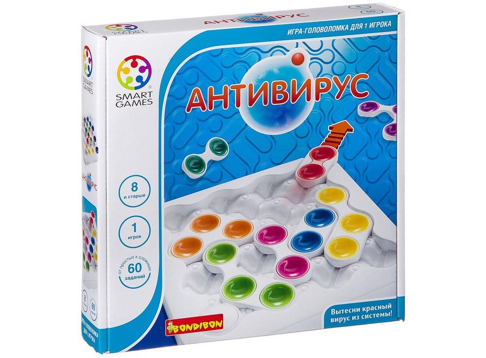 Коробка настольной игры-головоломки Антивирус