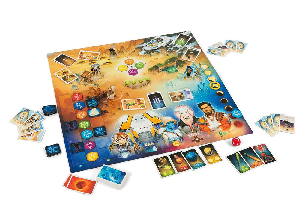 Игровой процесс настольной игры Восход 5: Руны Астероса