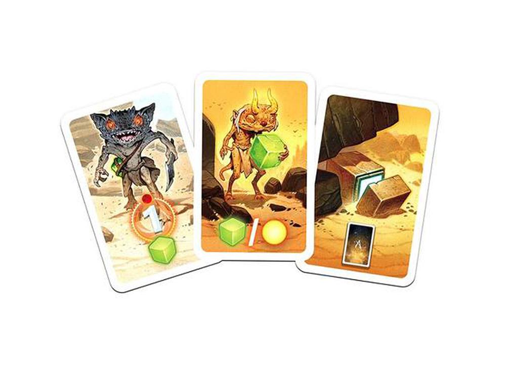 Компоненты настольной игры Восход 5: Руны Астероса