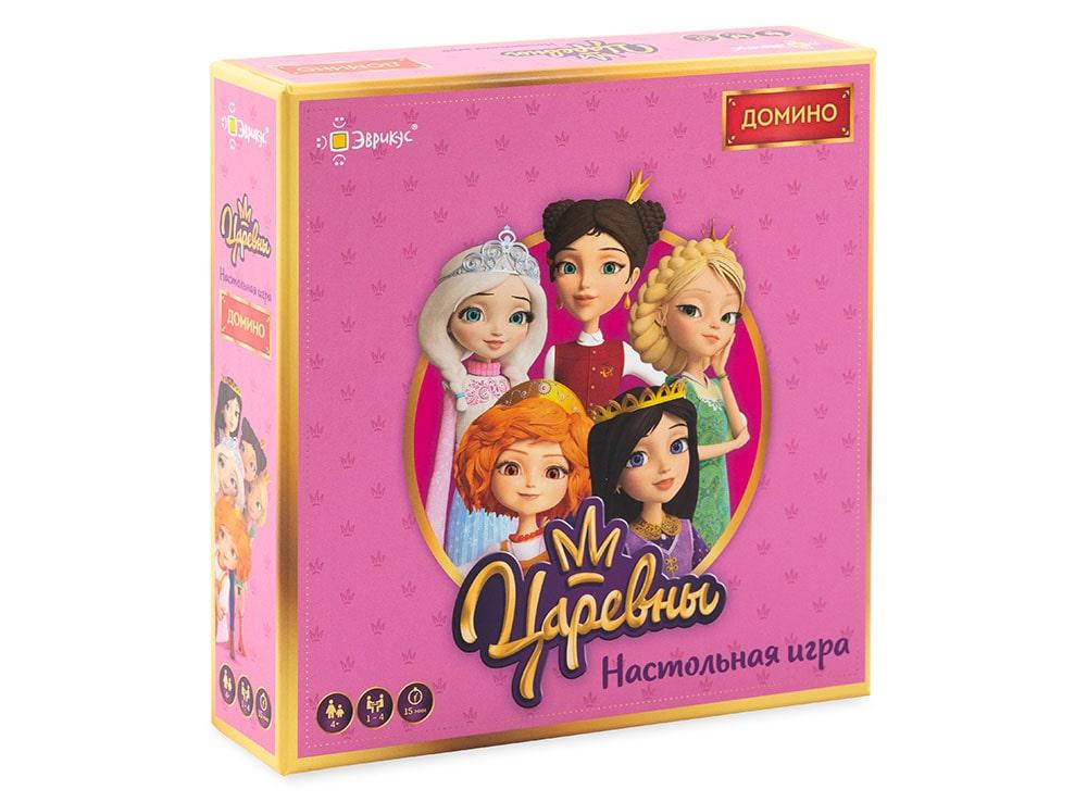 Коробка настольной игры Домино. Царевны