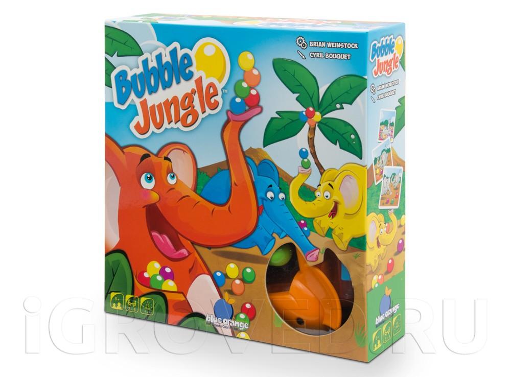 Коробка настольной игры Слоноловкость (Bubble Jungle)