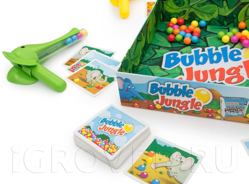 Игровой процесс настольной игры Слоноловкость (Bubble Jungle)