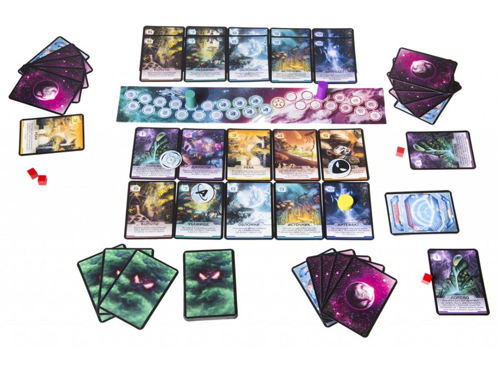 Игровой процесс настольной игры Чужая планета