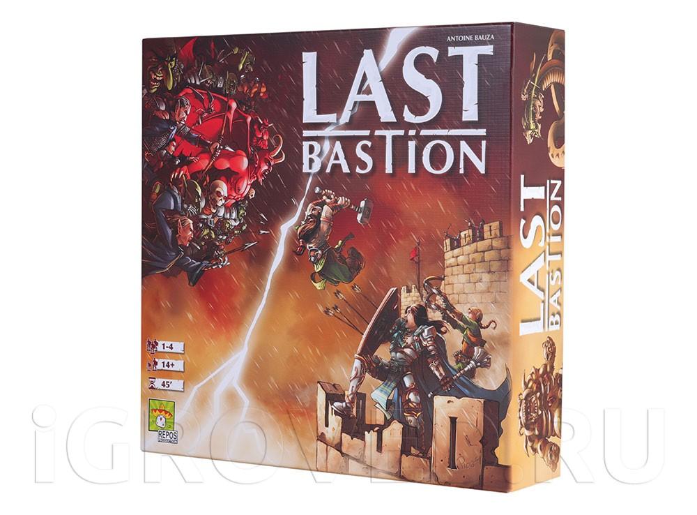 Коробка настольной игры Последний бастион
