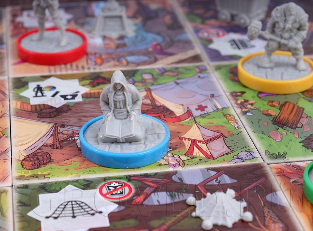Игровой процесс настольной игры Последний бастион