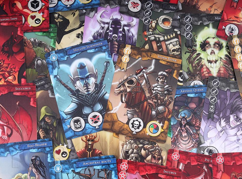 Карточки настольной игры Последний бастион