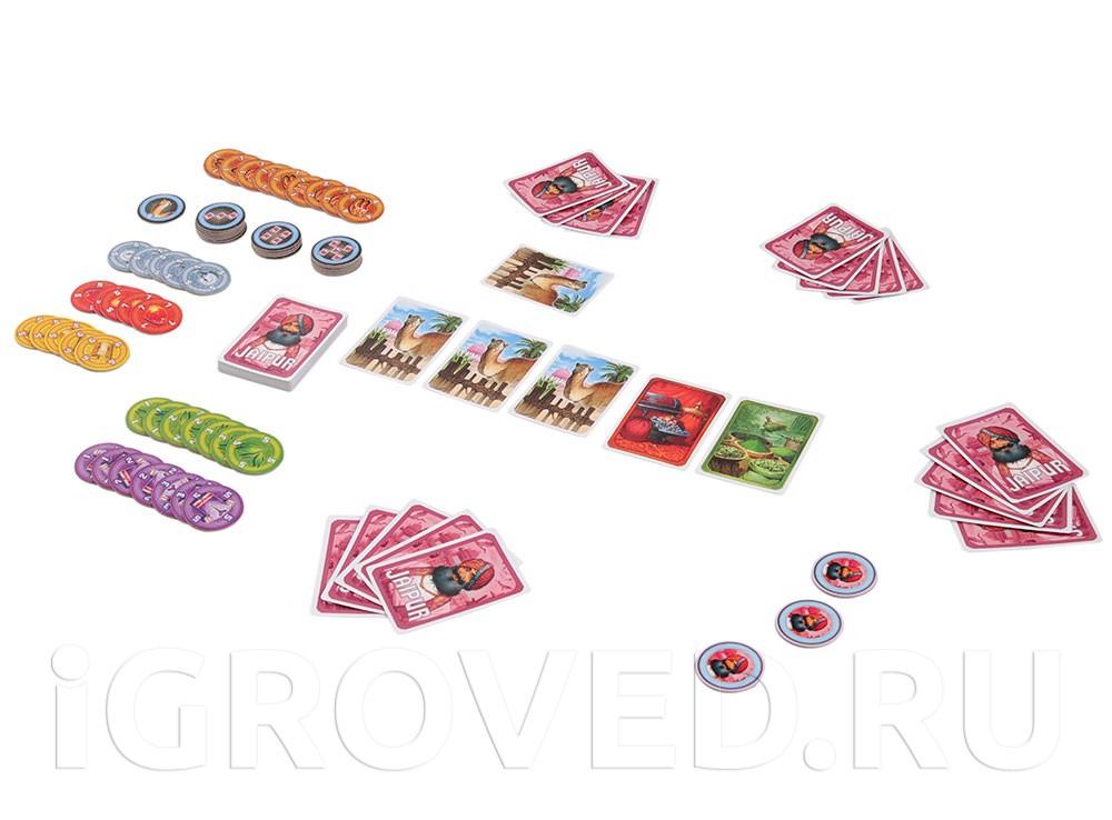 Игровой процесс настольной игры Джайпур (Jaipur)