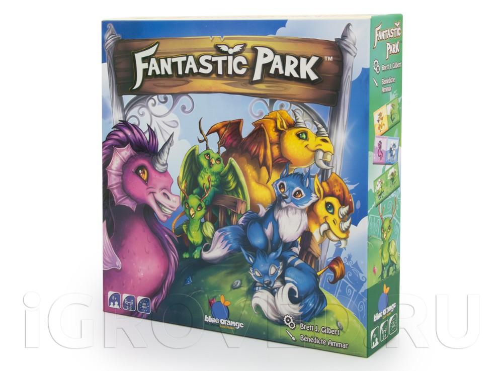 Коробка настольной игры Парк Фантастик (Fantastic Park)