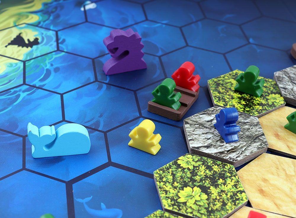 Игровой процесс настольной игры Последний день Атлантиды