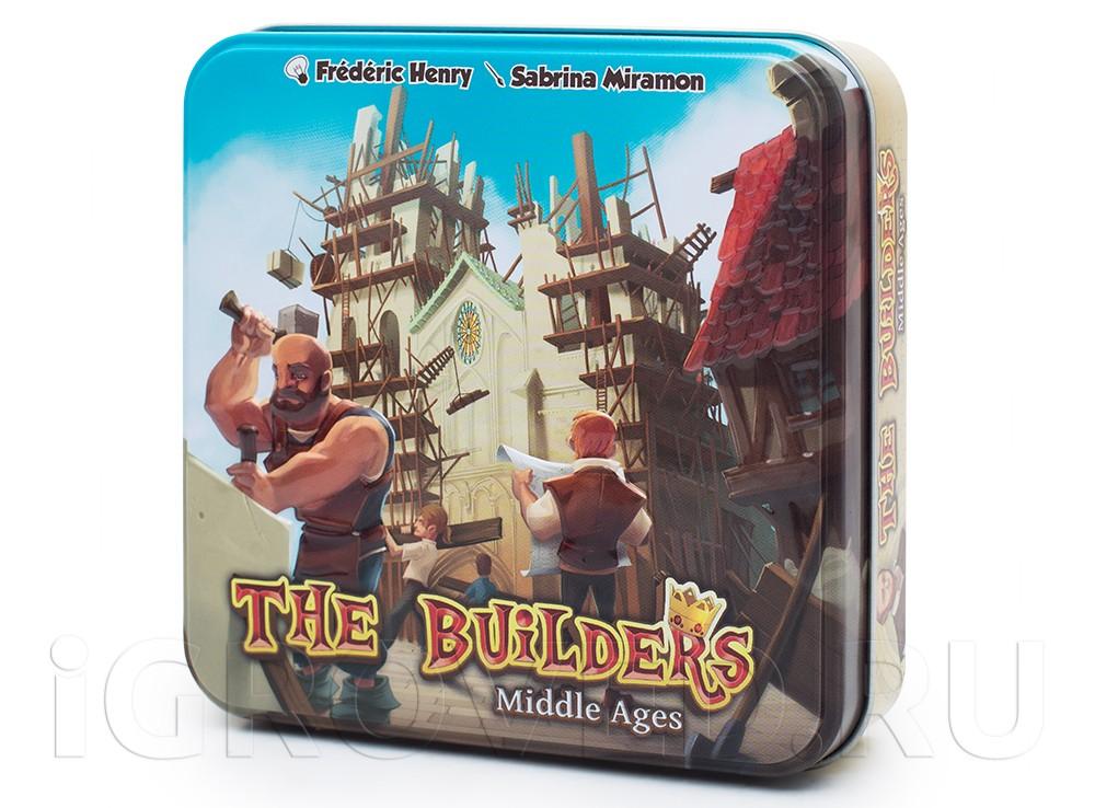 Коробка настольной игры Строители: Средние века (The Builders: Middle Ages)
