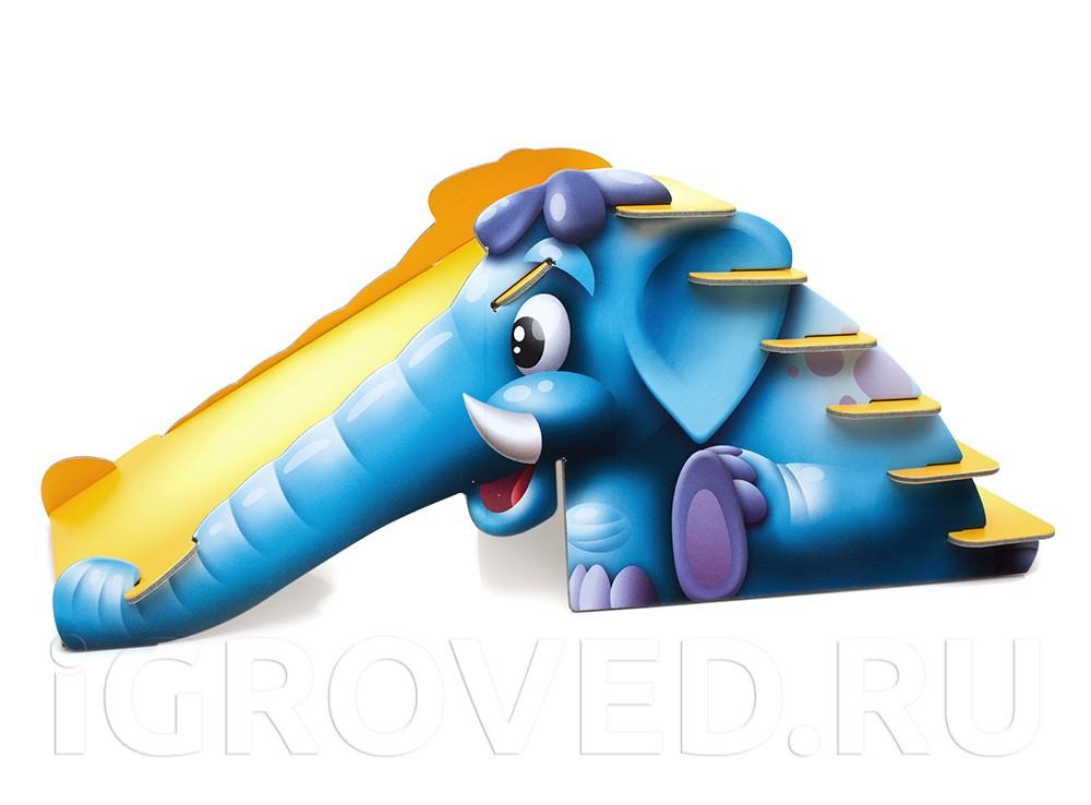 Синий слоник - это необычная вариация игры-ходилки.