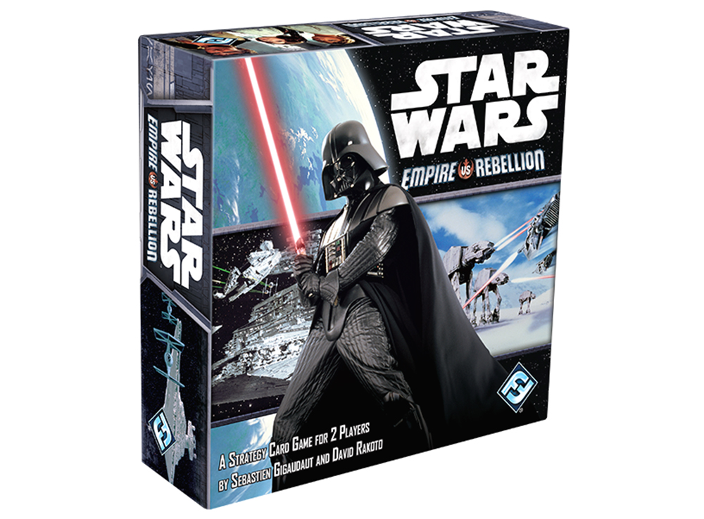 Коробка настольной игры Star Wars: Empire vs Rebellion