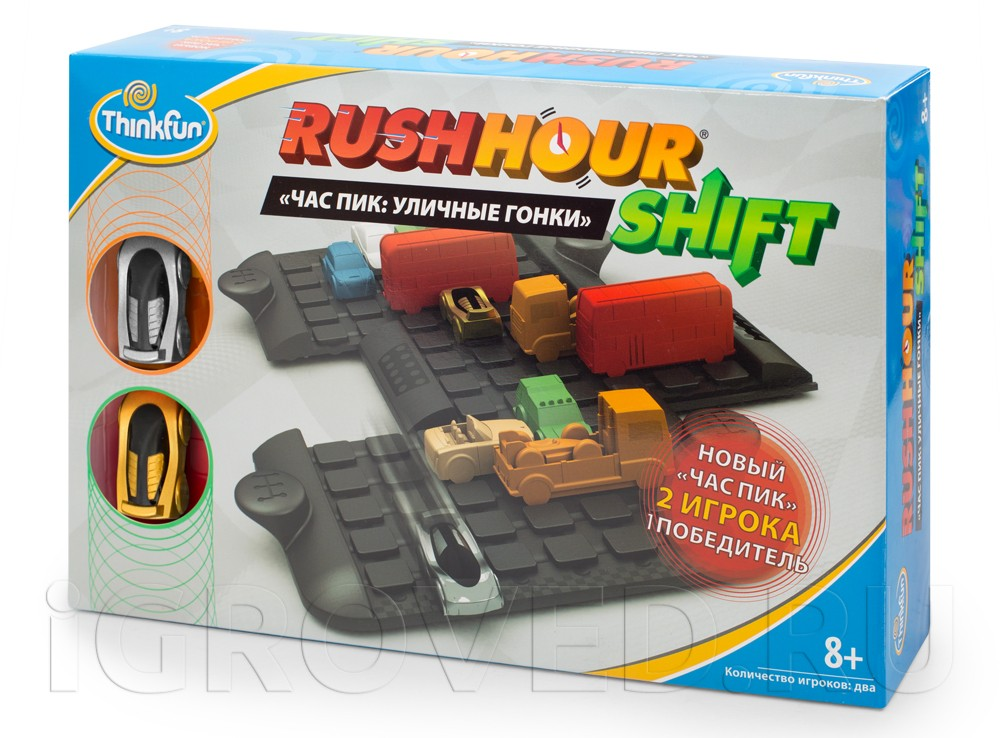 Игра-головоломка Час Пик: Уличные гонки (Rush Hour Shift)