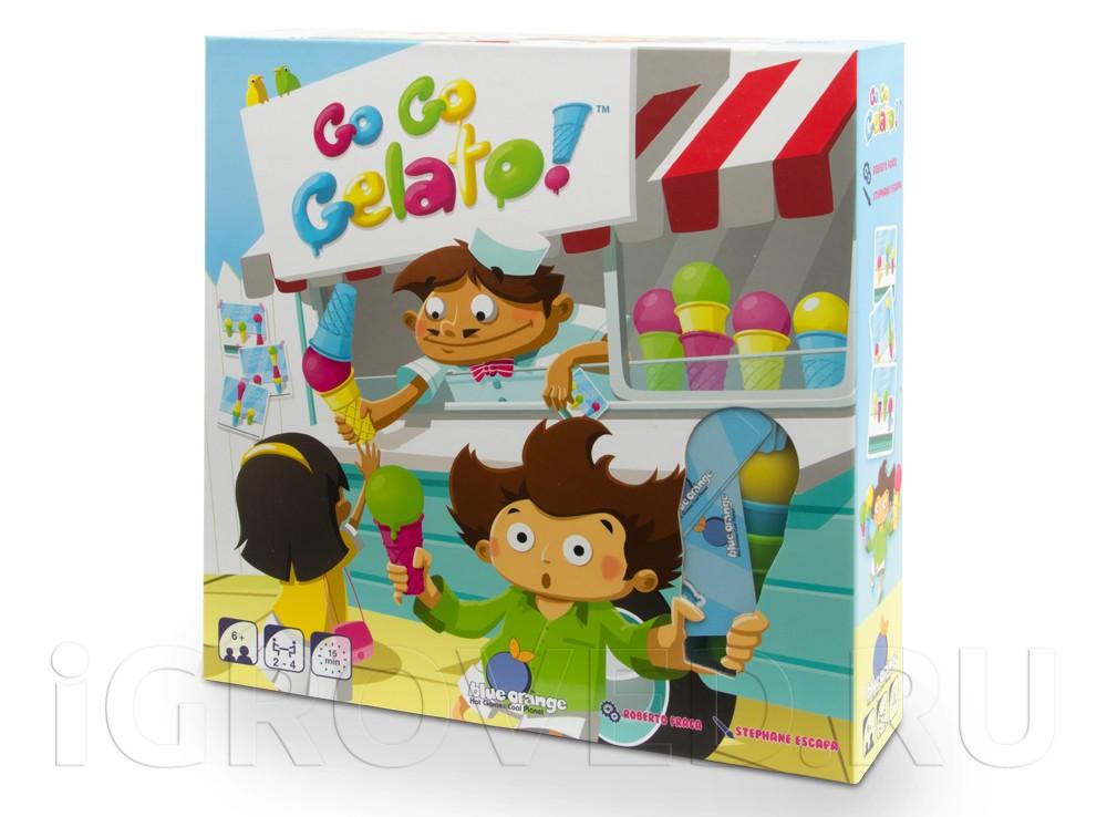 Коробка настольной игры Экспресс-мороженое (Go Go Gelato)
