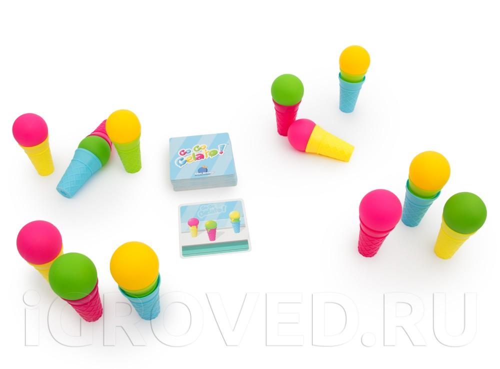 Игровой процесс настольной игры Экспресс-мороженое (Go Go Gelato)