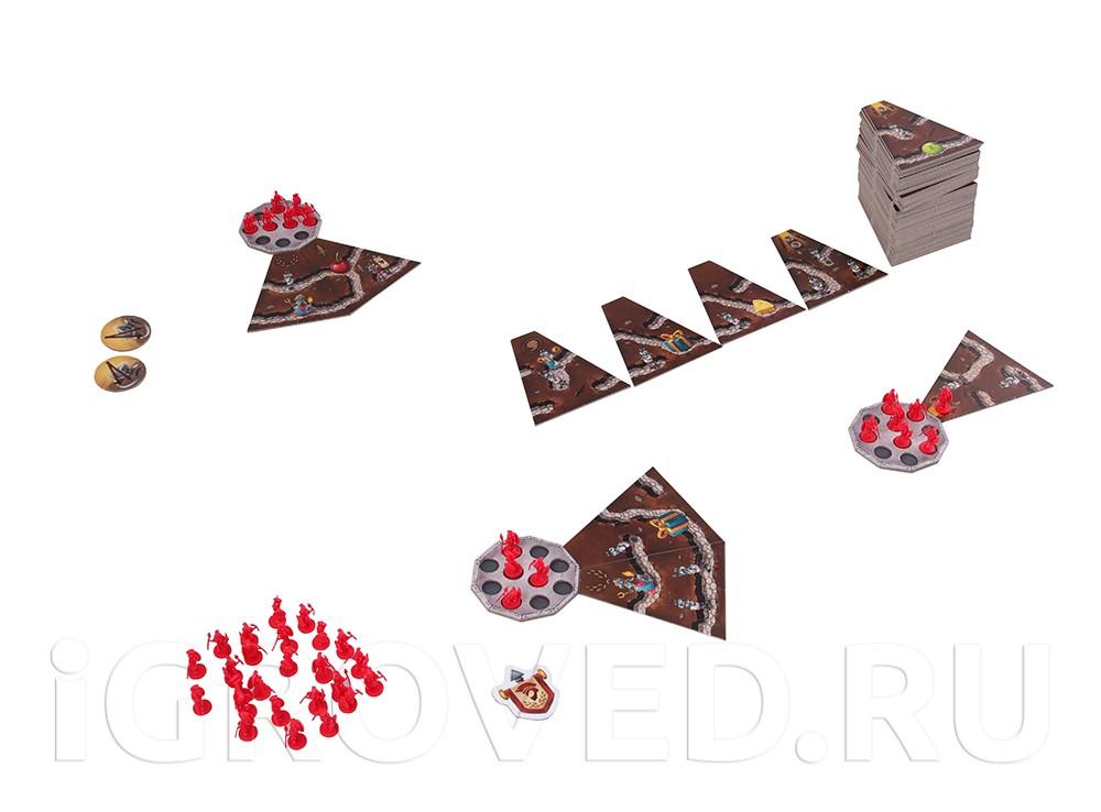 Игровой процесс настольной игры Микрополис