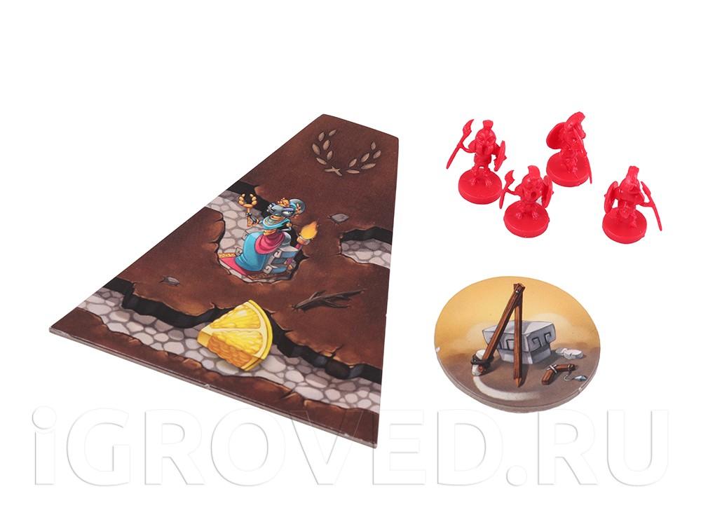 Компоненты настольной игры Микрополис