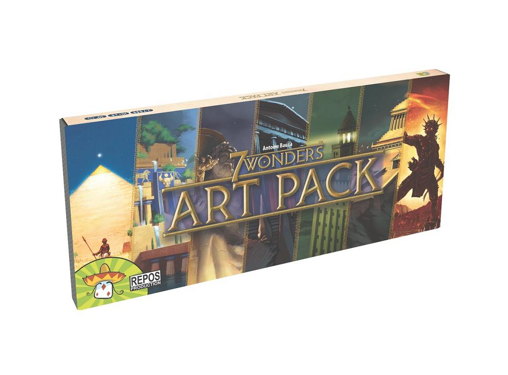 Настольная игра 7 чудес: ART Pack (дополнение)