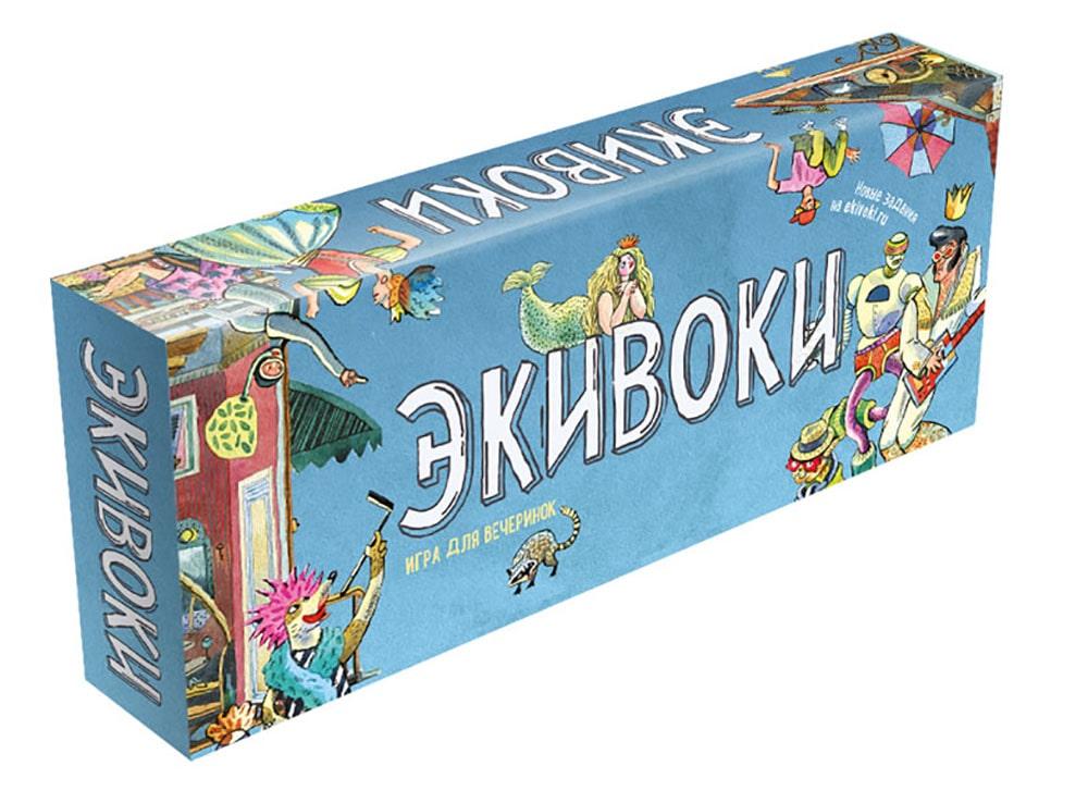 Коробка настольной игры Экивоки