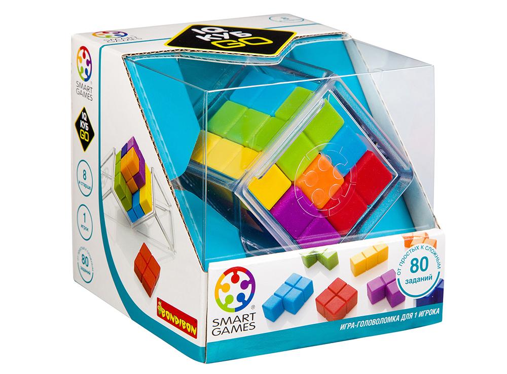 Настольная игра-головоломка IQ-Куб GO в коробке
